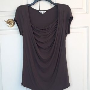 Gathered tee shirt from cabi